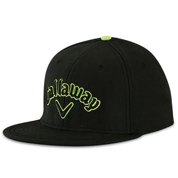 Callaway Golf 2014 Mens Flatbill Cap - One Size - Black  Amazon.co ... 0de5fe1a626a