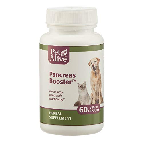 Capsules 60 Sprinkle (PetAlive Pancreas Booster Capsules, 60-Count Bottle)