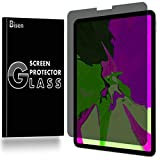 [BISEN] Fit for iPad Pro 11 (2018) Privacy Screen Protector Tempered Glass, Anti-Spy Screen, Anti-Scratch, Anti-Shock, Bubble Free, Lifetime Protection & Replacement