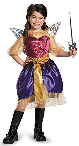 Disney's The Pirate Fairy Pirate Zarina Classic Girls Costume, Medium/7-8 for $<!--$26.99-->