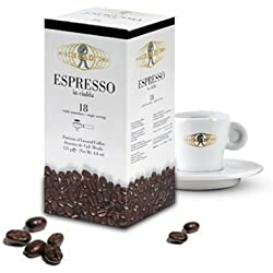 Miscela d'Oro Single Shot Espresso Ground Pods - 18 Pods