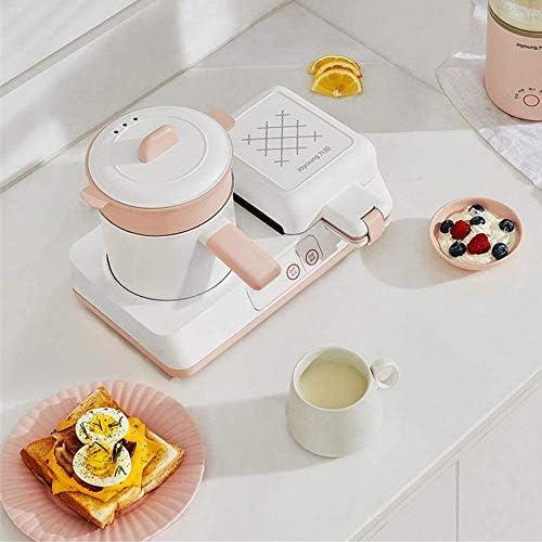 LINANNAN 4 en 1 Sandwich Maker électrique Petit-déjeuner, Grille-Pain Multifonction cuisinière Cuisinière Multi Ménage