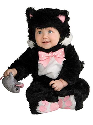Rubie's Baby Inky Black Kitty Costume Jumpsuit, 18-24 Months, Multi-colored