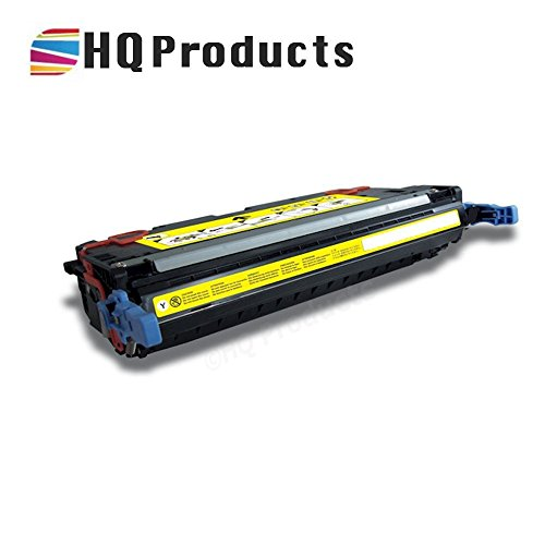 HQ Products © Compatible Replacement for HP Q7582A Yellow Toner Cartridge for use in HP Color LaserJet 3800, 3800DN, 3800DTN, 3800N, CP 3505DN, 3505N, 3505X Series Printers. Remanufactured in California, USA Cp Series Printers