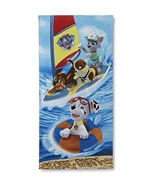 Nickelodeon PAW Patrol - Toalla de baño, piscina, piscina: Amazon.es: Hogar