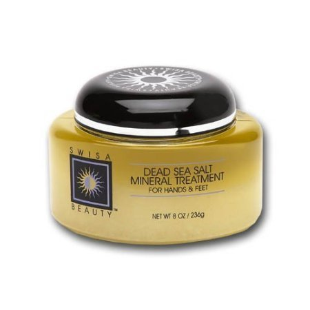 Swisa Beauty Dead Sea Salt Mineral Treatment, For Hands & Feet, 8-Ounce Body Care/Beauty Care/Bodycare/BeautyCare.