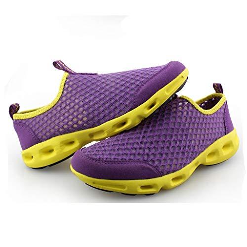 Shoes Unisex Corsa Running Ginnastica Scarpe Casual Viola Fitness All'aperto Basse Sneakers Feixiang Sportive Uomo Outdoor Da Donna wxftxSqzO