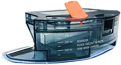 Coredy 300ml Water Tank Reservoir with Mopping Cloth for R550(R500+) R500 R580 R750 Robot Vacuum Cleaner, Model RWTB