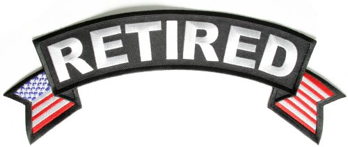 Us Navy Retired Patch - 2