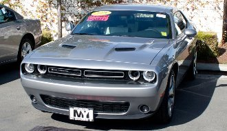 2015-2018 Dodge Challenger with Adaptive Cruise STO N SHO Quick-Release Front License Plate Bracket by StonSho (Image #3)