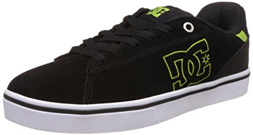 DC Notch Sd M Shoe, Men's Low-Top Sneakers Black/Lime