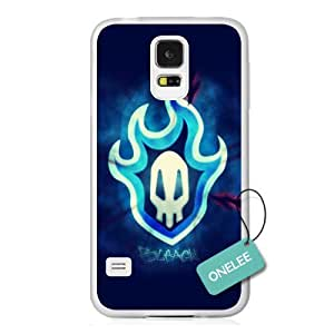 Onelee(TM) Japanese Anime Bleach Logo Samsung Galaxy S5 Case & Cover - Transparent 04 hjbrhga1544