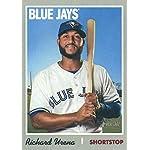 56caf95eb 2019 Topps Heritage Baseball  243 Richard Urena Toronto Blue Jays Official.