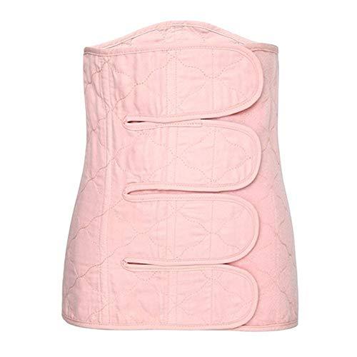 DKzyy Postpartum Maternity Pregnancy Puerpera Pelivis Corset Belly Belt Shapewear Waist Training Bustiers Breathable,Pink,L