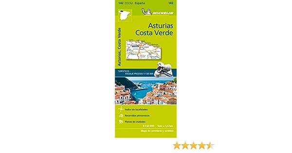 Mapa Zoom Asturias, Costa Verde (Mapas Zoom Michelin): Amazon.es ...
