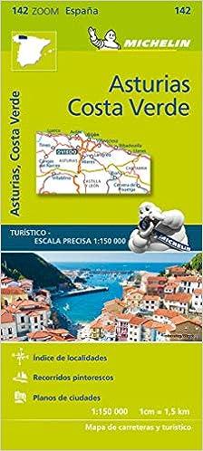 Mapa Zoom Asturias, Costa Verde: 142 Mapas Zoom Michelin: Amazon.es: Vv.Aa, Vv.Aa: Libros