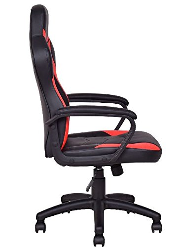 41tqEbeSIlL - KA-Company-Chair-Style-High-Back-Gaming-Racing-Ergonomic-Office-Leather-Pu-Swivel-Computer-Executive-360-Degree-5-Wheels-Mesh-Bucket-Seat-Blue