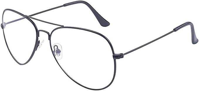 Outray Classic Metal Fashion Clear Lens Glasses Frame Eyewear For Women//Men