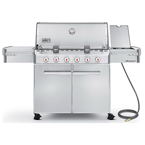 Weber 7420001 Stainless Steel 838 Square Inch Natural Gas