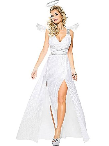 Goddessey Adult Goddess of Angels Costume (Angel Costume For Women)