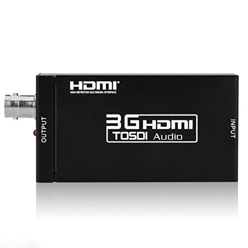 Andoer HDV-S009 Mini 3G HDMI to SD-SDI HD-SDI 3G-SDI Video Converter 2.97 Gbit