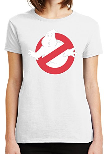 Womens Ghost Busters Classic Logo Graphic Tee in 7 Colors
