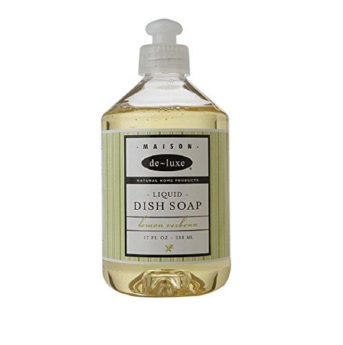 de-luxe MAISON Liquid Dish Soap, Lemon Verbena