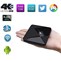 Edal DOLAMEE D5 Android 5.1 TV Box 1G DDR3 RAM/8G ROM Support 4K Ultra HD TV BOX