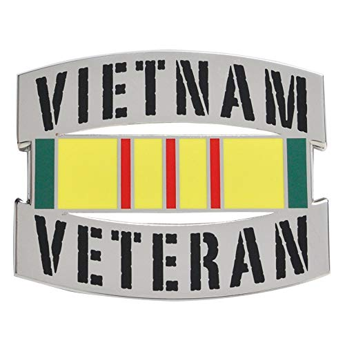 Medals of America Vietnam Veteran Officially Licensed Car Emblem ()