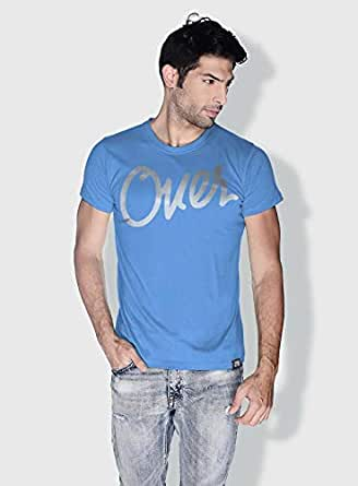 Creo Over Type Trendy T-Shirts For Men - Xl, Blue