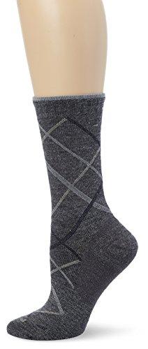 Sockwell Women's Vibe Socks, Charcoal, Medium/Large