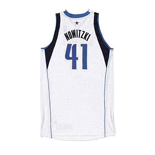 Dirk Nowitzki Game Worn Jersey From the 2011-2012 NBA Playoffs ~Limited Edition 1/1~ - Panini Authentic - Panini Certified
