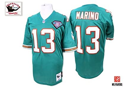 5234120b7 Image Unavailable. Image not available for. Color  Mitchell   Ness Dan  Marino Miami Dolphins Authentic 1994 Aqua NFL Jersey
