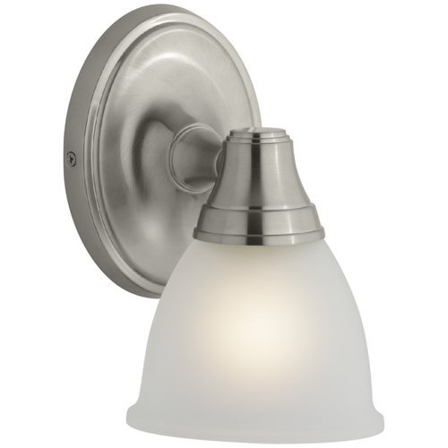 KOHLER K-11365-BN Transitional Single Wall Sconce for Forte Faucet Line, Vibrant Brushed Nickel