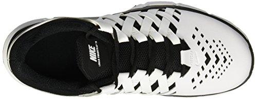 Uomo Black White Lunar TR 100 Scarpe Fitness da Bianco Nike Fingertrap HZqCAwFg