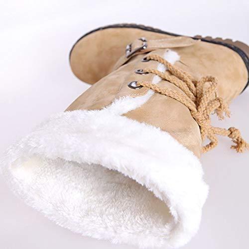 Donne Donne Comodo Fortuning's Morbido Morbido Morbido Scarpe Stivali Sci Cotone nbsp;JDS Caldo Traspirante Anti da Giallo Neve Invernali wqT8rq5
