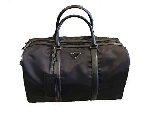 a2519de37e Prada Unisex Black Nylon Fabric Duffel Bag Tessuto Saffiano 2VC002 · Prada  Women s ...