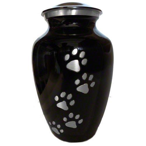 ebony-classic-vertical-pewter-5-paw-print-pet-memorial-urn-small