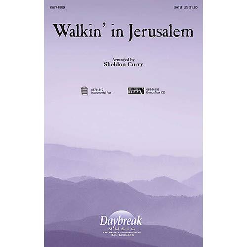 - Walkin' in Jerusalem SATB arranged by Sheldon Curry, Pack of 3