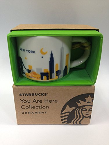 - Starbucks You Are Here Collection New York Ornament