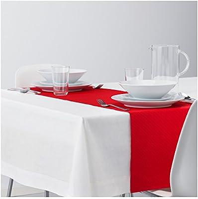 IKEA juego de gamuza de tablero de la mesa Decor – color blanco ...