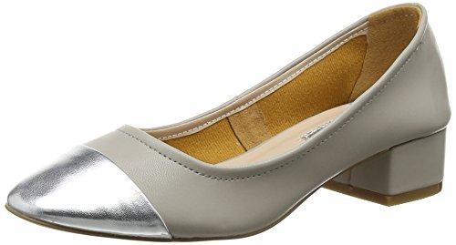 Dorothy Perkins WoMen Dorey Court Closed-Toe Heels Grey (Grey)