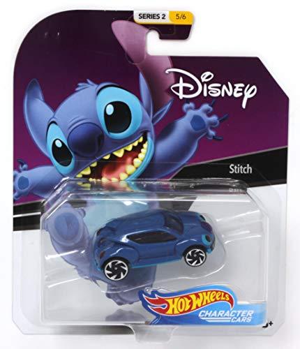 - Hot Wheels Character Cars Disney Stitch Vehicle Series 2 5/6