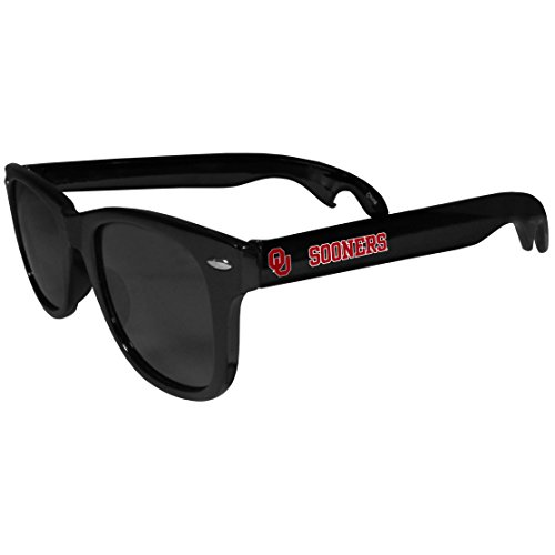 NCAA Oklahoma Sooners Beachfarer Bottle Opener Sunglasses ()