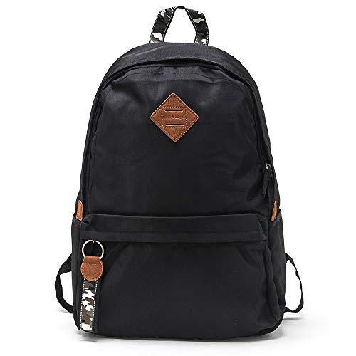 4ef030f1a308 ... SEMIR Waterproof Nylon Designer Fashion Lightweight Backpack Bag Pack  College School Book Bag for School Women ...