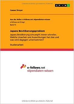 Book Japans Bev??lkerungsproblem by Caesar Dreyer (2011-07-08)