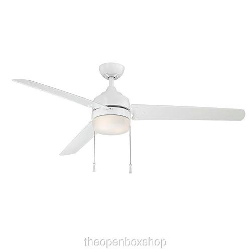 Carrington 60 White Ceiling Fan