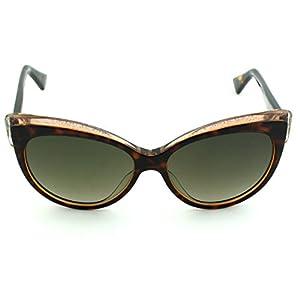 Dior Glisten 1 Cateye Women Sunglasses (Havana Frame, Brown Gradient Lens (0E59))