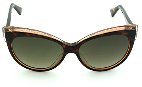 Dior Glisten 1 Cateye Women Sunglasses (Havana Frame, Brown Gradient Lens - Dior Cateye Glasses