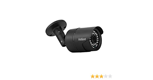 ONVIF A-T-S7 Antkeet Indoor//Outdoor 1.3 MP HD WiFi IP Bullet Camera Night Vision Android iOS app Outdoor 960P HD WiFi IP Camera